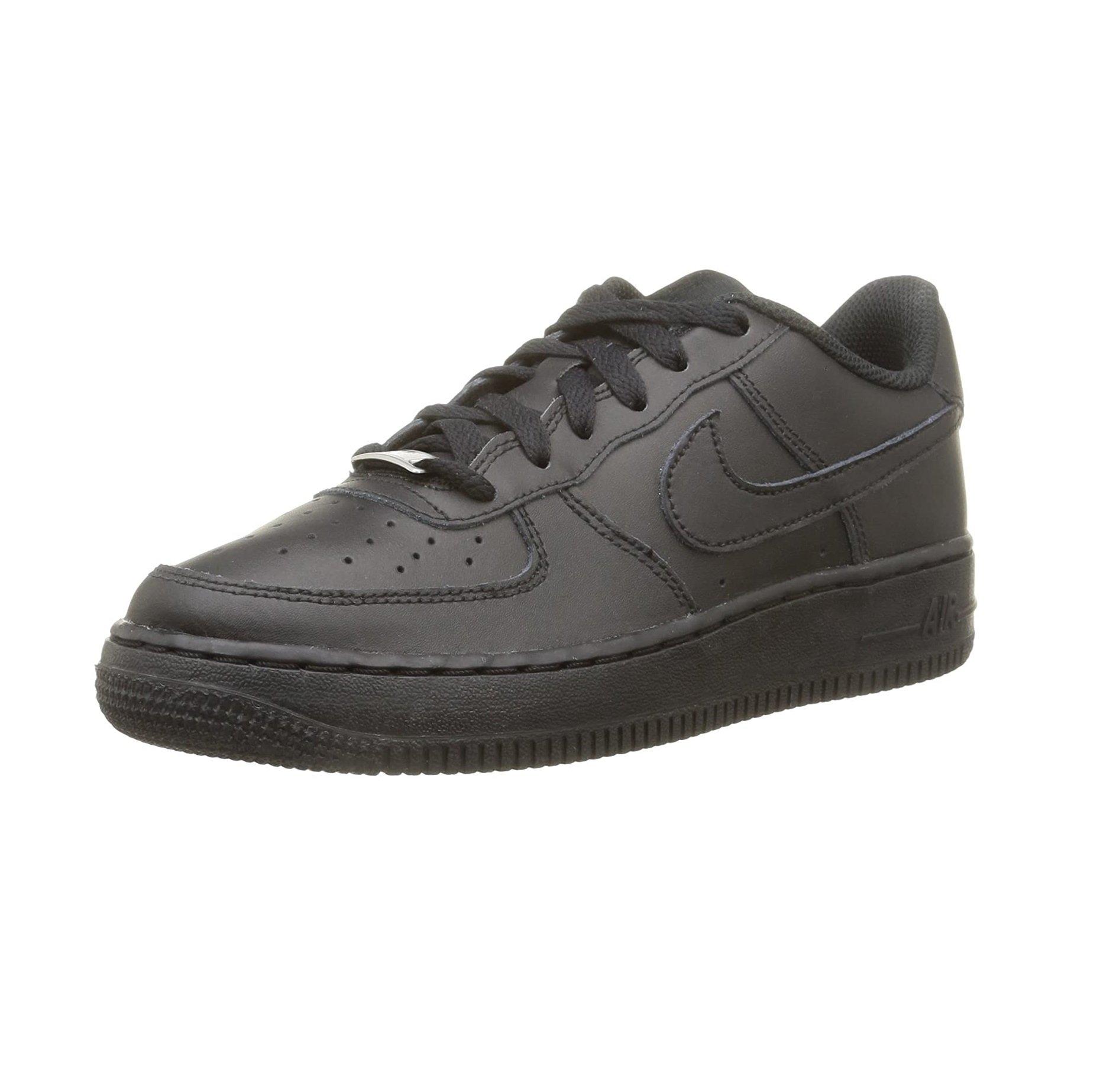 Nike Air Force 1 GS, Baskets Mixte Enfant (White 38.5 EU)